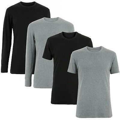 NEXT™ Mens Thermal Tops New Thick Brushed Warm Winter Base Layer Vests T-Shirts • 5.99£