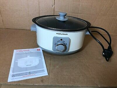 Morphy Richards Slow Cooker Sear And Stew 460013 3.5L Cream Slowcooker • 19.99£