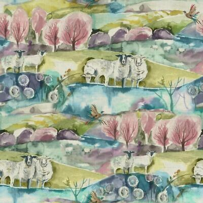 Voyage Maison  Buttermere Sweetpea Fabric  Per Meter In Stock Curtains • 23.98£