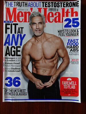 Mens Health Magazine March 2020  • 3.49£