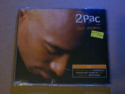 2Pac ‎: Dear Mama : (CD2) - CD Single (1999, Jive) • 2.54£