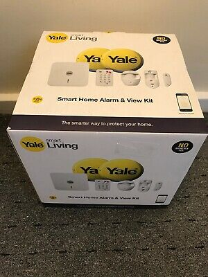 YALE Smart Living Wireless Phone Control SR-330 Smart Home Alarm And View Kit • 259.99£