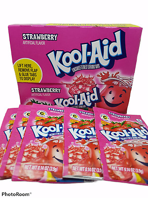 Strawberry  Kool-Aid 1x48 Sachets • 14.82£