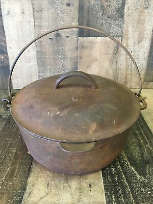 $ CDN130.84 • Buy Vintage Lodge No. 8, 5-Qt. DUTCH OVEN With Basting Lid Raised Number/Arched Logo