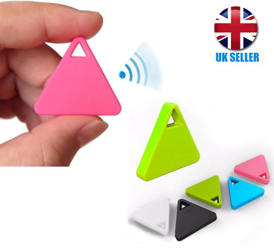 Mini Bluetooth 4.0 GPS Tracker Locator Tag For Wallet Keys Pets Etc. • 5£