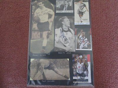 Old Fulham Signed Pictures Inc: Johnny Haynes & Tony Macedo • 8.50£