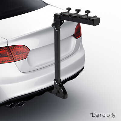 AU115.90 • Buy Giantz 4 Bicycle Bike Rack Rear Car Carrier Hitch Mount 2  Foldable With Lock
