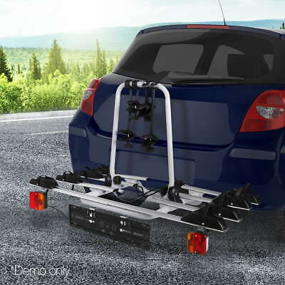 AU284.90 • Buy Giantz Bike Rack Carrier Bicycle Towbar Hitch Ball Mount Car Rear Rack 4Bicycles