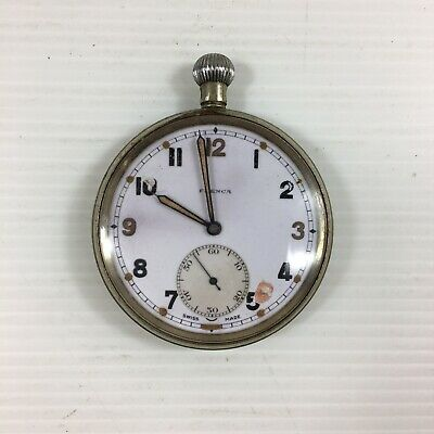 Vintage Military Possibly WW2 Frenca Pocket Watch A/F Not Working  • 59£
