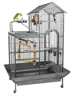 £359.99 • Buy Angel Large Parrot Cage With Play Top & Apex Roof Antique 5008