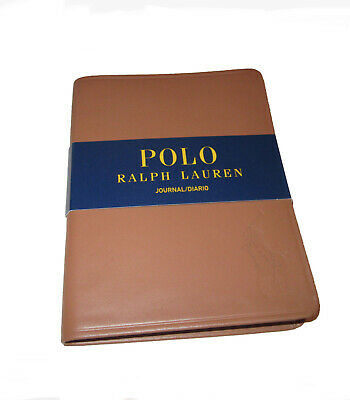 Polo Ralph Lauren Brown Leather Blank Diary Notebook Journal Any Year Any Date  • 34.90£