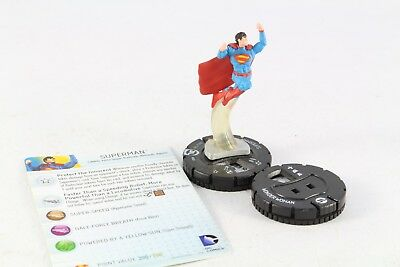 £9.99 • Buy Heroclix DC Superman #001 Justice League Strategy Game