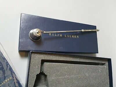 RL Ralph Lauren Desmond Candle Snuffer Silver Plated Collectable Boxed • 105£