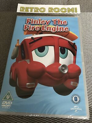 Finley The Fire Engine DVD (2014) NEW SEALED DVD - Available @ Retro Room 1982 • 2.47£