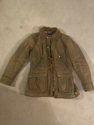 Joules Wax Brown Jacket Size 10 • 50£