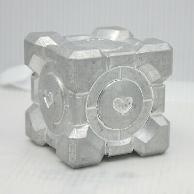 £32.91 • Buy Companion Cube CNC Milled From Aircraft Aluminum