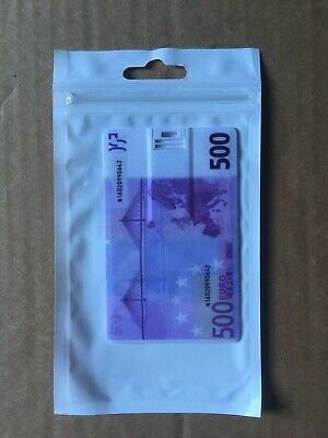 32GB 500 Euro Note Compact Credit Card Style USB 2.0 USB Flash Drive • 19.99£