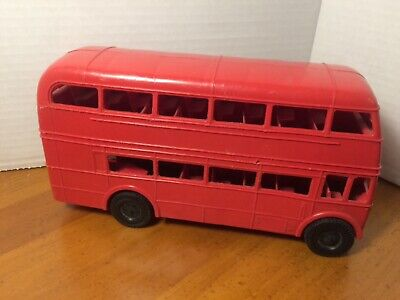 $ CDN24.89 • Buy Vintage Plastic Double Decker Toy Bus Made In England