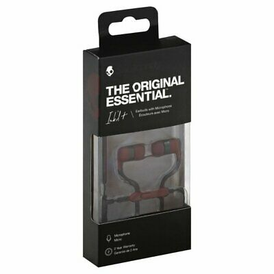 £12.06 • Buy Skullcandy Ink'd + Wired Earbuds Built In Microphone Moab Red Earphones NEW
