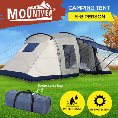 AU239.99 • Buy Family Camping Tent Tents Portable Outdoor Hiking Beach 6-8 Person Shade Shelter