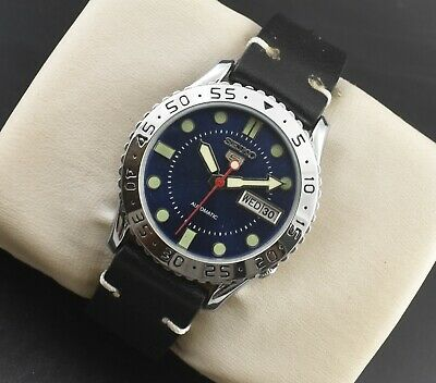 $ CDN26.84 • Buy Vintage Seiko Automatic Sports 17 Jewels Cal.6309a Day Date Mens Wrist Watch