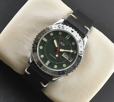 $ CDN28.02 • Buy Vintage Seiko Automatic Sports 17 Jewels Cal.6309a Day Date Mens Wrist Watch