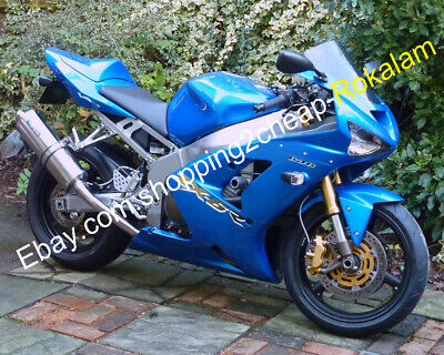 $449 • Buy For Kawasaki ZX6R 2003 2004 636 ZX-6R 636 ZX 6R All Blue Aftermarket Fairing Kit