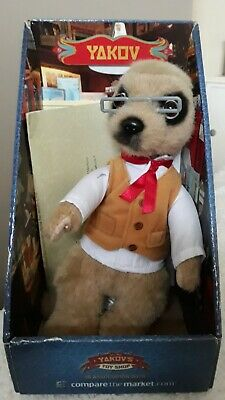 'Yakov' Meerkat Toy - Compare The Market. With Certificate - Brand New • 3£