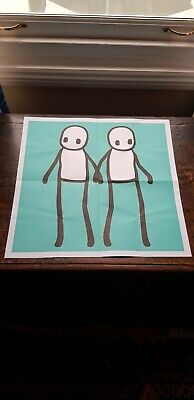Stik Limited Edition Poster Hackney Today Teal • 95£