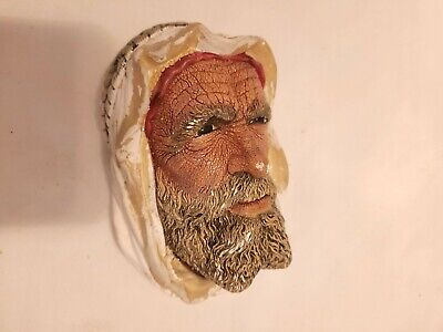 £3.99 • Buy 'The Syrian'  Vintage Bossons Chalkware Head Collectible