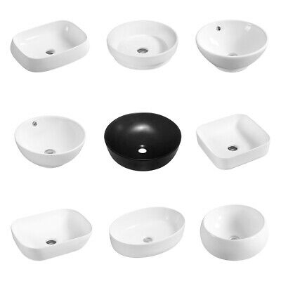 Bathroom Basin Sink Hand Wash Counter Top Ceramic Various Sizes Styles • 113.99£