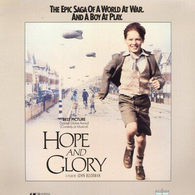 AU14.01 • Buy HOPE AND GLORY CC NTSC LASERDISC Sarah Miles,David Hayman,Sebastian Rice-Edwards