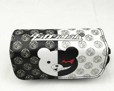 Anime Danganronpa Monokuma Pencil Case! Stationary Bag! Make Up UK Seller! • 12.99£