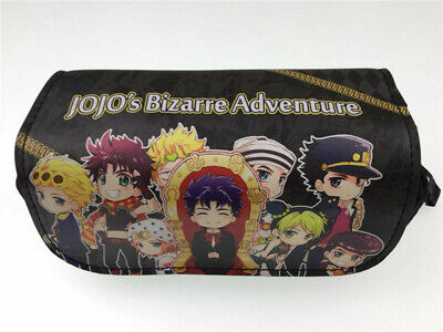JoJo's Bizarre Adventure Anime Pencil Case! Stationary Bag! High Quality! • 12.99£