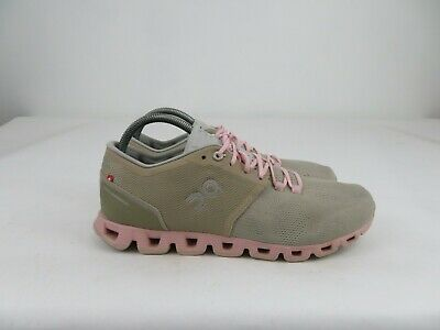 $ CDN94.60 • Buy On Cloud Swiss Cloud Beige Pink Running Athletic Lace Up Shoes Womens Size 10