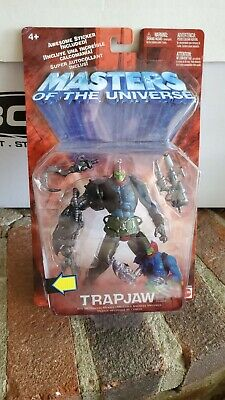 $37.95 • Buy Trapjaw Action Figure 200x Masters Of The Universe 2001 MOTU He-Man Trap Jaw