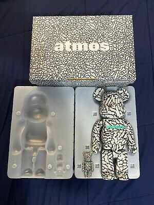 $290 • Buy Bearbrick X Atmos Elephant 400% & 100%