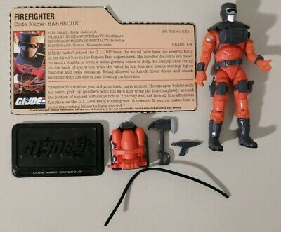 $ CDN18.50 • Buy GI Joe 25th Anniversary BARBECUE Firefighter 3.75  Action Figure