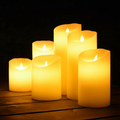£3.95 • Buy LED Candle Flameless Electronic Candle Light Night Lamp Wedding Party Home DecBE