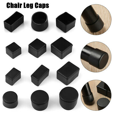 4pcs/set New Chair Leg Cap Rubber Feet Protector Pads Furniture Table Covers ` • 3.93£