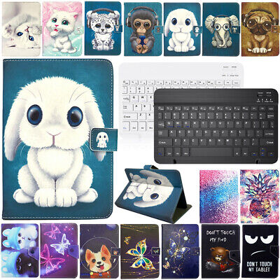 AU19.89 • Buy For Laser 10  Inch Android Tablet Universal Stand Leather Case Cover Keyboard
