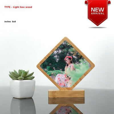 Modern Wood Photo Frame Picture Poster Frames,Heart,round,curved,box100% Natural • 34.91£