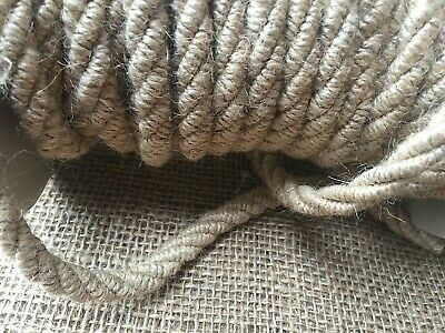 10 Mm. Chunky Decorative Jute Cord/rope • 2.55£