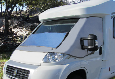 External Thermal Motorhome Windscreen Cover - Fiat Ducato, Peugeot Boxer & Citro • 119£