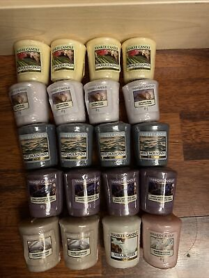 Yankee Candle Votive Sampler New X 20 Assorted Scents • 17£