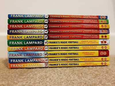 £10 • Buy Frankie's Magic Football Series - 10 Books - Great Condition - Frank Lampard
