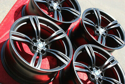 $2900 • Buy 4- 20 Inch Factory OEM BMW M6 Wheels Style 343 Forged Original In SEMI Gloss