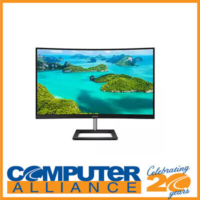 AU599 • Buy 31.5  Philips E-Line 328E1CA Ultra Wide Curved 4K Monitor With Speakers