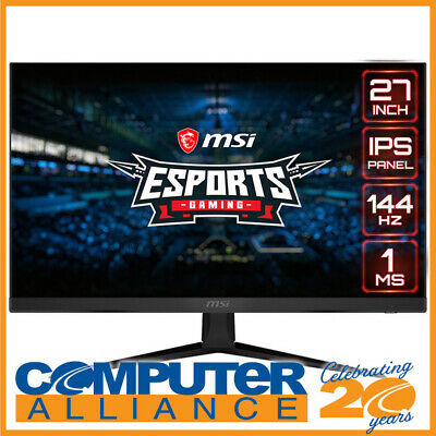 AU419 • Buy 27  MSI Optix G271 FHD IPS Free Sync Gaming Monitor With Height Adjust
