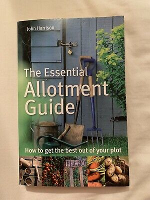 Vintage Book The Essential Allotment Guide • 0.99£